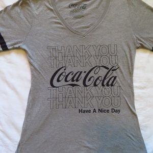 Coca-Cola Have a Nice Day Grey Jersey Large